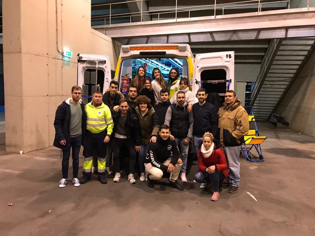 Práctica ambulancia