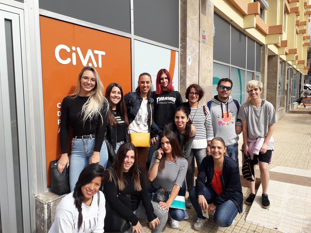 Visita al Centro de Información para la Vida Autónoma, CIVAT