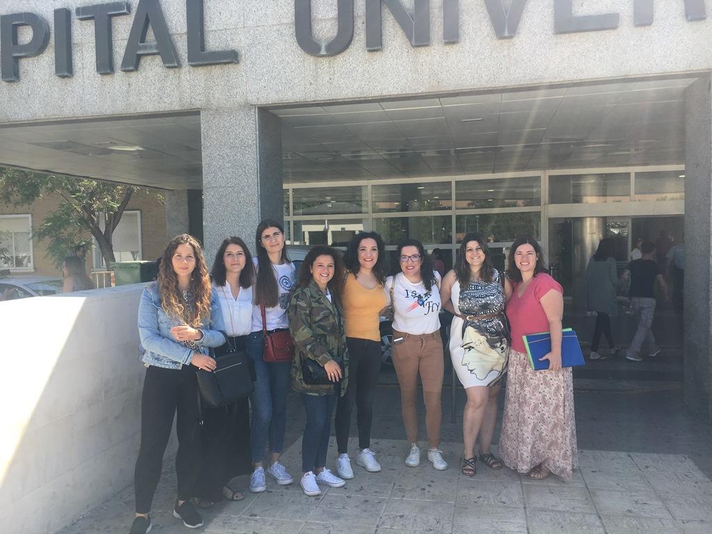 Visita al Hospital Universitario Virgen del Rocío