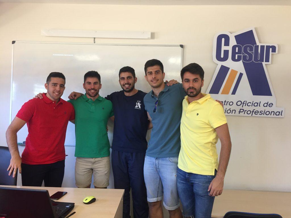 Finalización de la 4º Promoción de TAFAD en Cesur CAFD