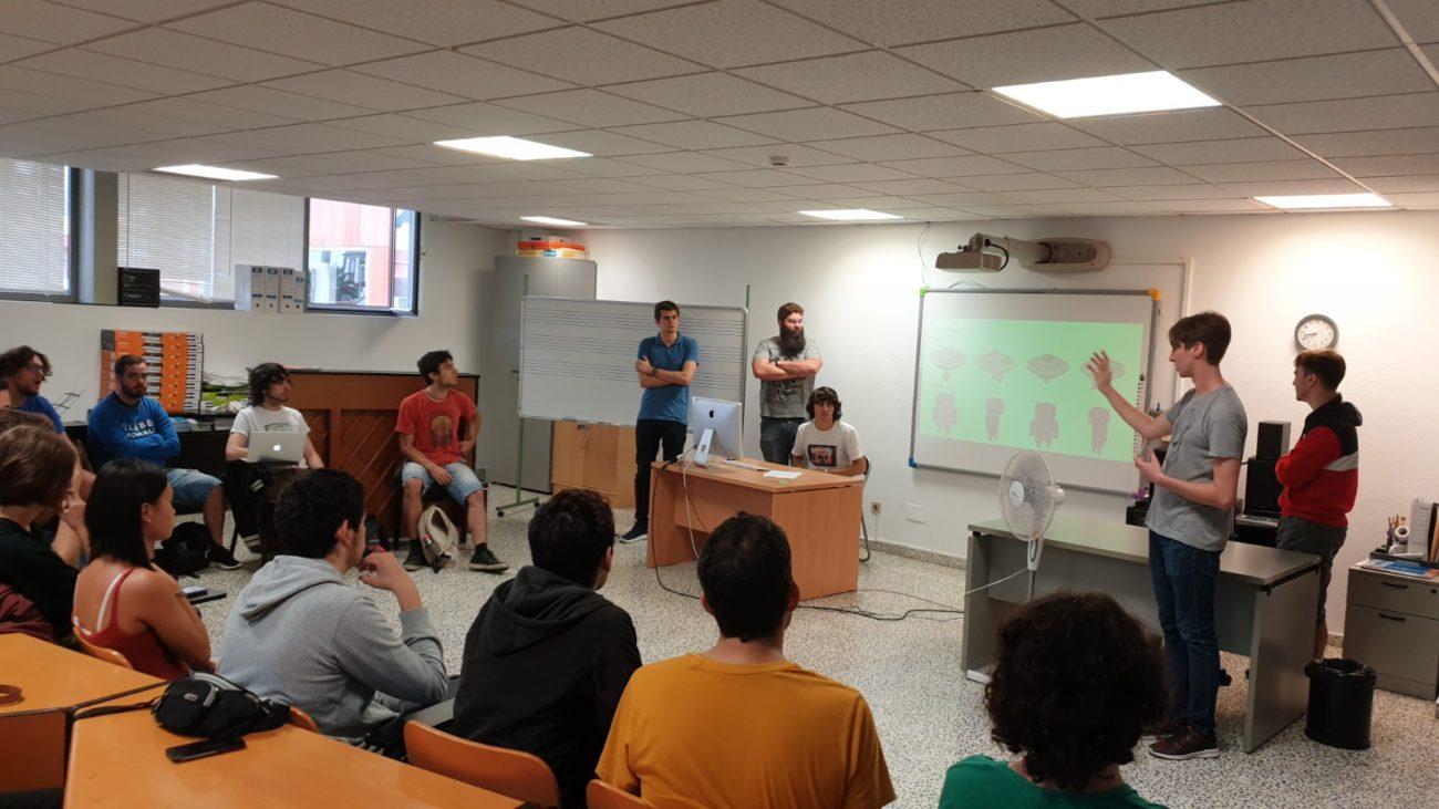 Visita al Conservatorio Superior de Música de Canarias