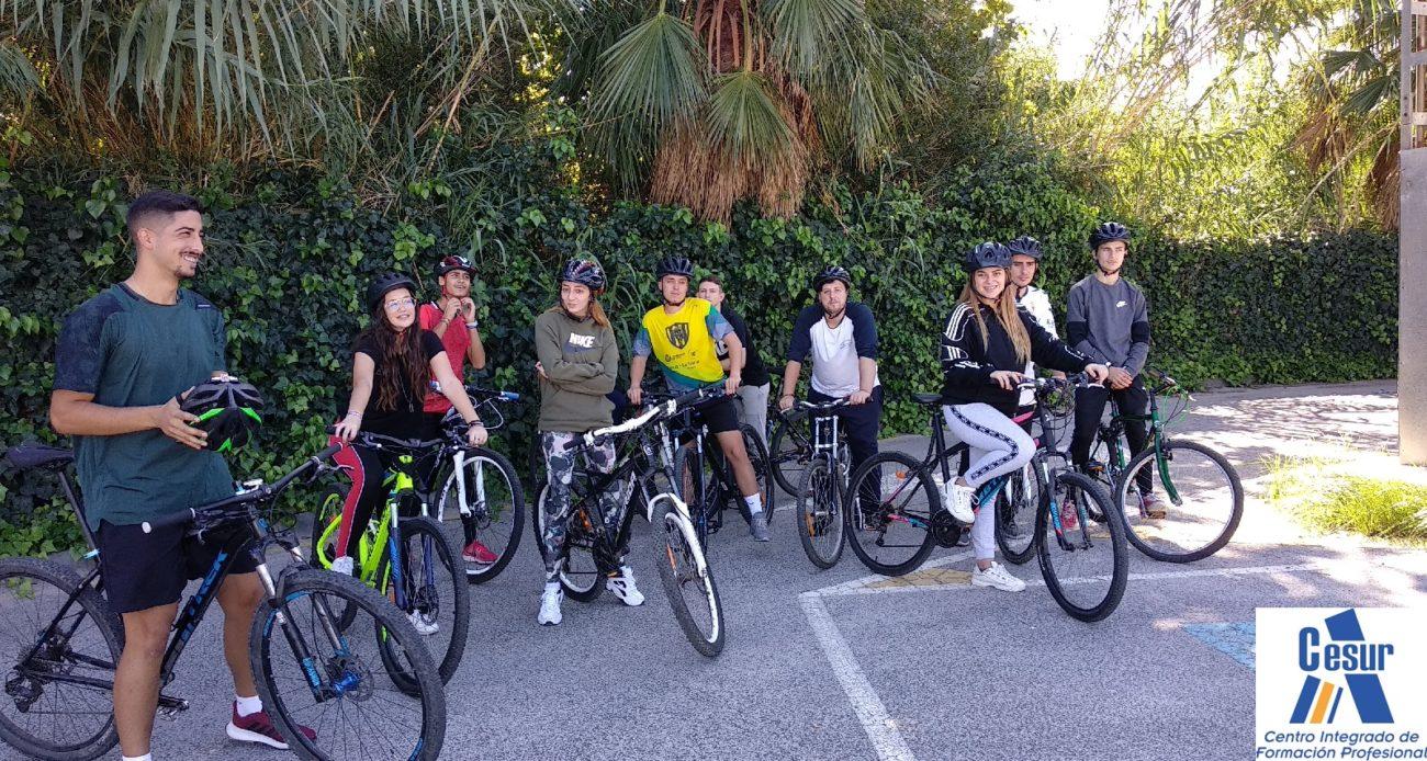 Sesiones prácticas de Conducción de grupos en bicicleta