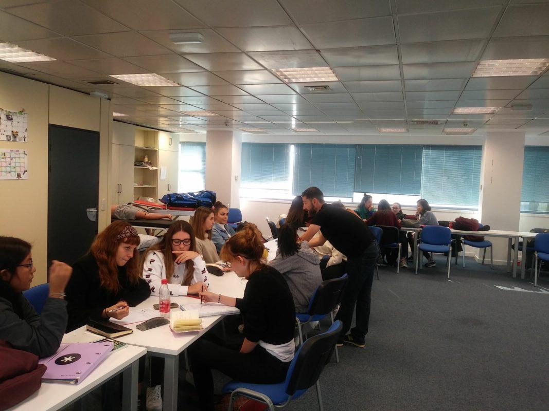 Charla-taller de la Asociación Eslabón