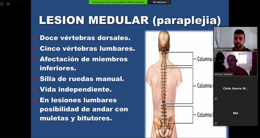 """Masterclass """"Prevención de lesiones medulares"""""""