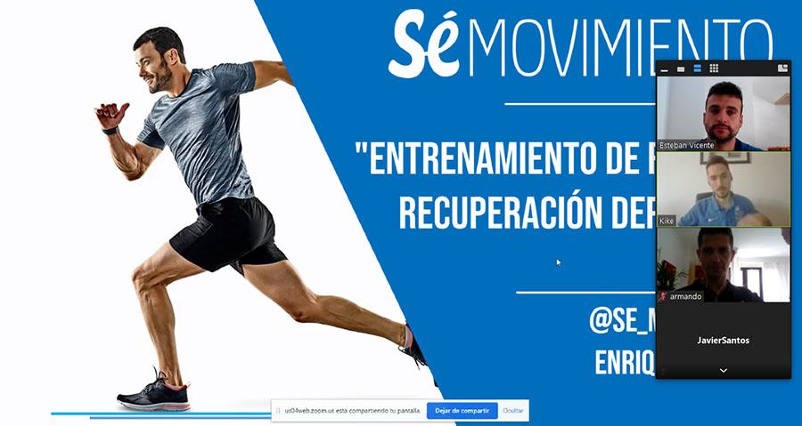 """Masterclass """"Entrenamiento y rehabilitación deportiva"""""""