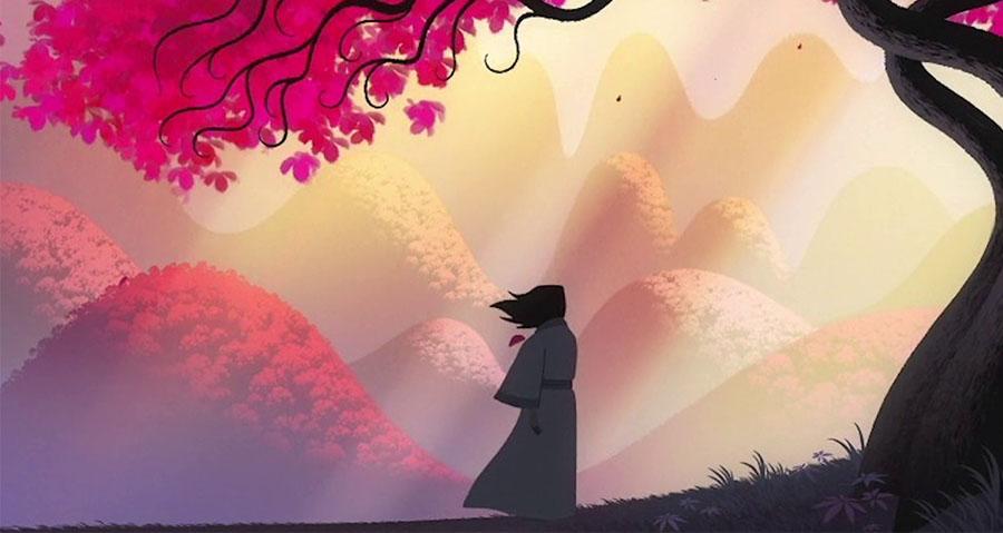Motion Graphics de Samurai Jack